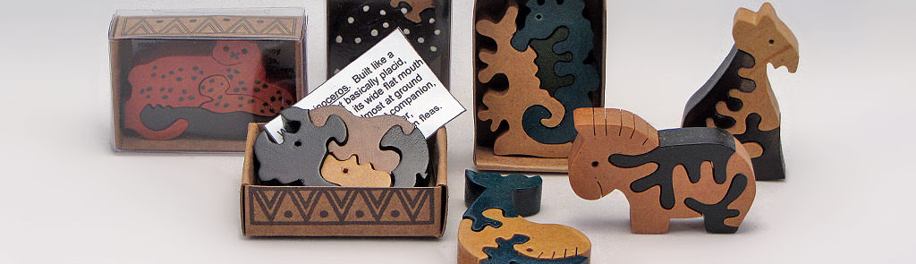 Holzpuzzles