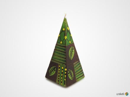 BABA Pyramidenkerze 5 x 12 cm