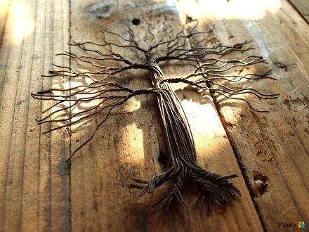 Deko-Baum WIRE TREE 20 cm