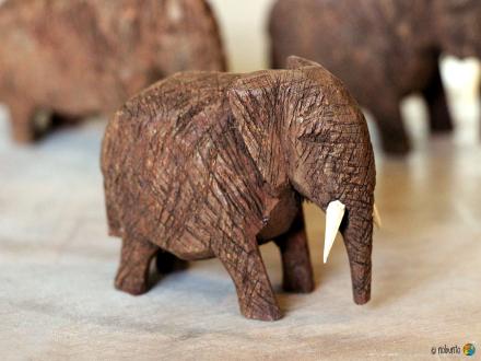 Elefant aus Holz 6 cm