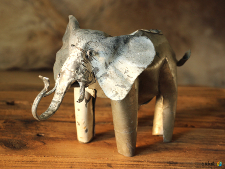 TIN ANIMAL Elefant 24 cm
