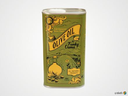 FUNKY OUMA Extra virgin Olivenöl (500 ml)