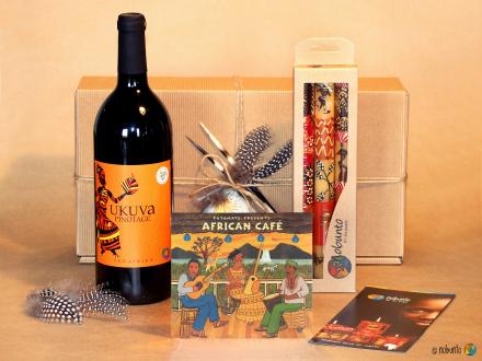 Geschenk-Set WILLKOMMEN IN AFRIKA