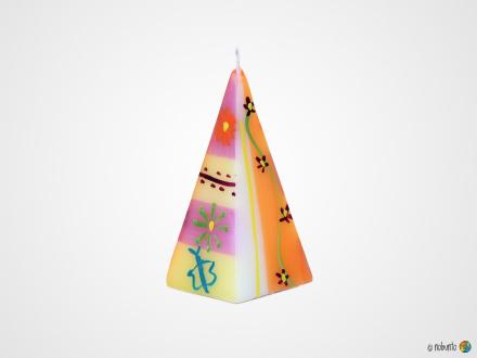 IMBALI Pyramidenkerze 5 x 12 cm
