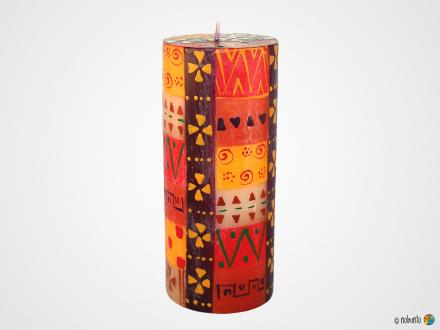 INDABUKO Stumpenkerze 7,5 x 23 cm