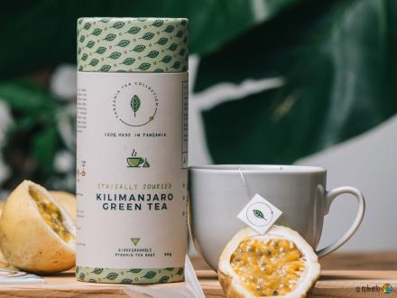 Tanzania Tea Collection KILIMANJARO GREEN TEA (60 g)