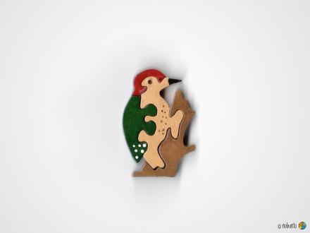 Mini-Holzpuzzle SPECHT